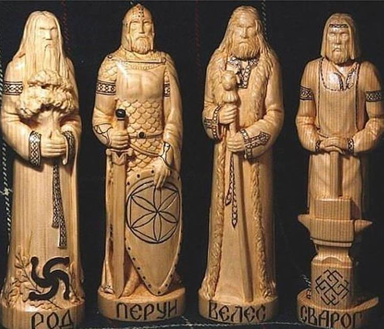 Чуры славянских богов